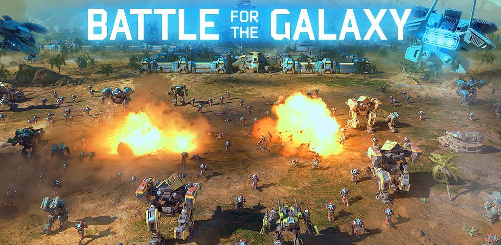 دانلودجدیدترین نسخه بازی استراتژی نبرد برای کهکشان -Battle for the Galaxy 2.5.1-اندروید