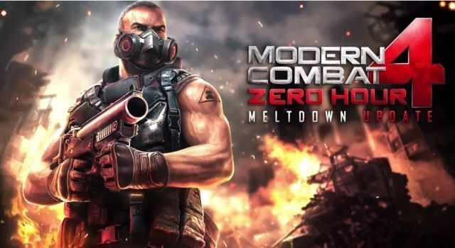 دانلود بازی مدرن کمبات Modern Combat 4: Zero Hour 1.2.2e -اندروید + مود + دیتا