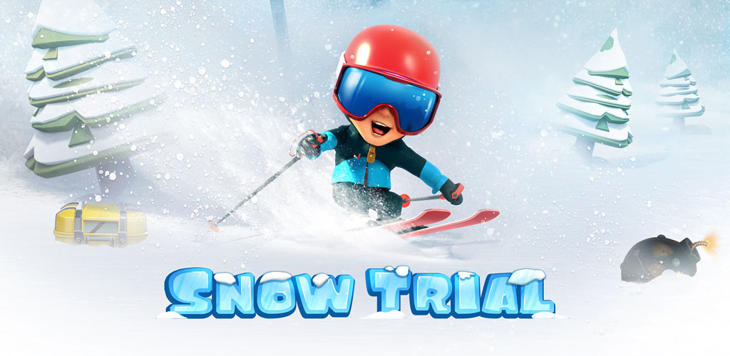 دانلودآخرین نسخه بازی مسابقه اسکی Snow Trial 1.0.63 –اندروید + مود