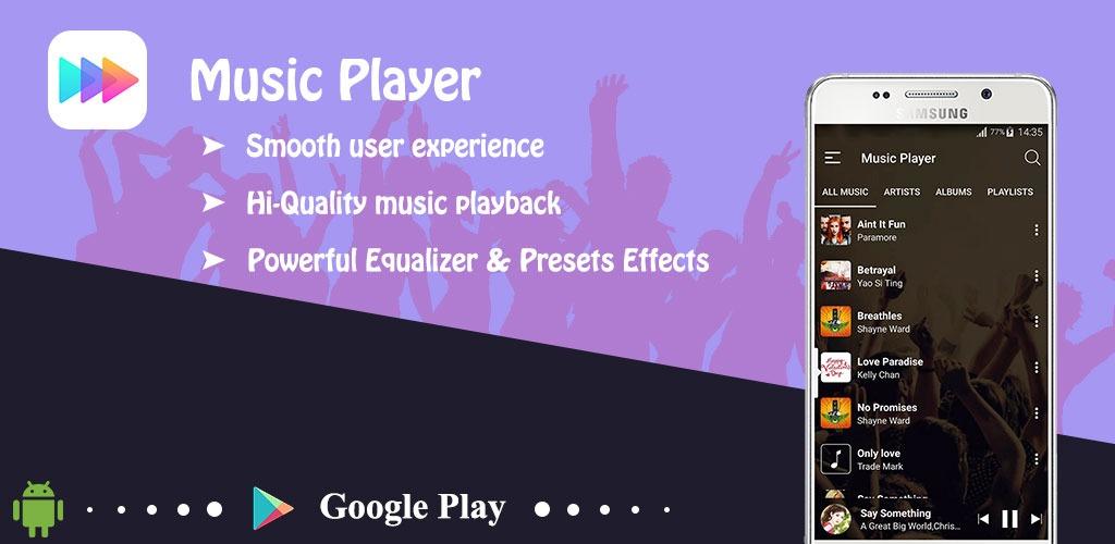 دانلود موزیک پلیر- music player ad-free 1.8.9 ، جالب و زیبابرای اندروید