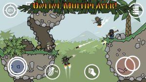 دانلود بازی Doodle Army 2 : Mini Militia v4.0.36