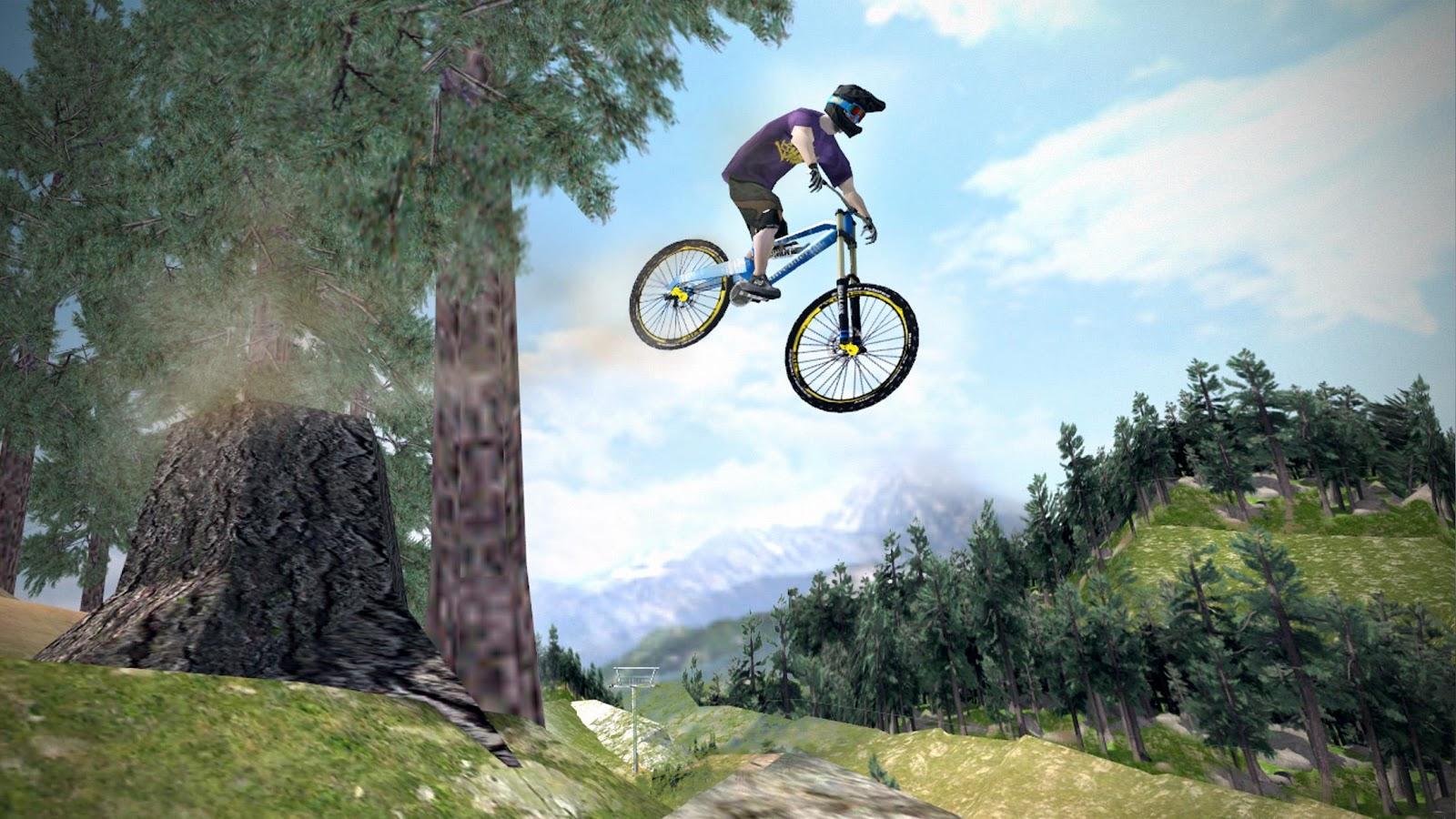 دانلود بازی دوچرخه سواری کوهستان-MTB DownHill: Multiplayer +مود+اندروید