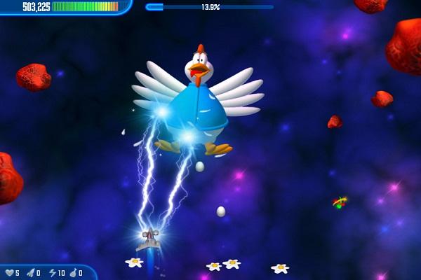 دانلود بازی مرغ های مهاجم فضایی Chicken Invaders 3 v1.23ggl اندروید