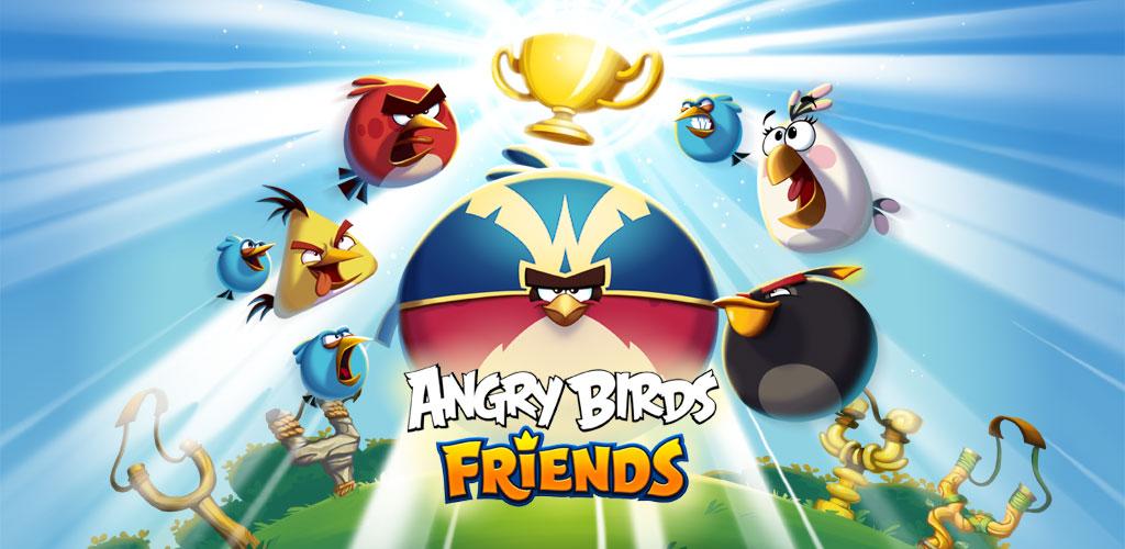 دانلود بازی پرندگان خشمگین  Angry Birds Friends v5.0.0 برای اندروید
