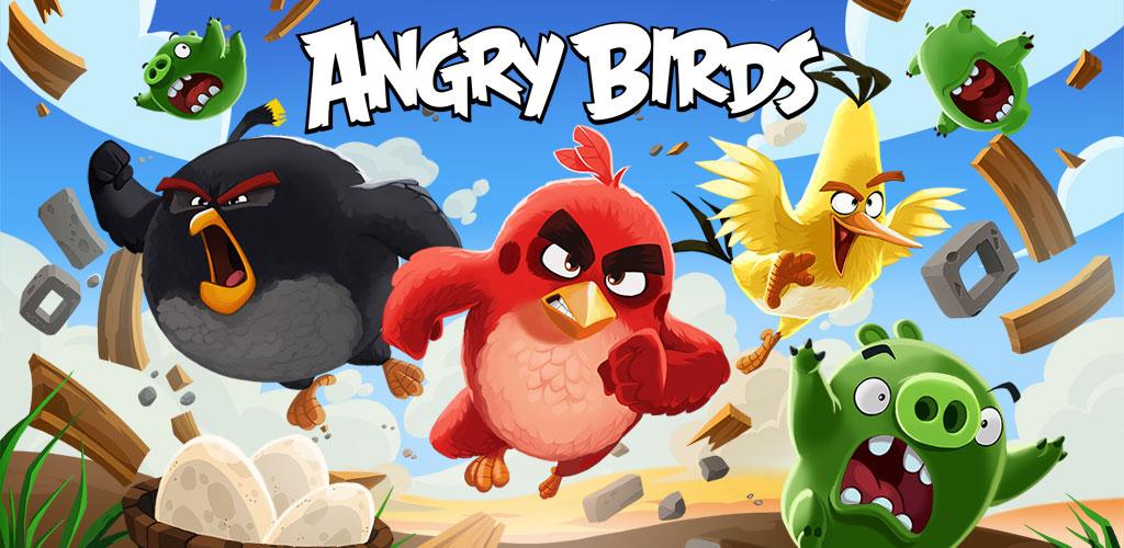 دانلودجدیدترین نسخه  بازی پرندگان خشمگین Angry Birds Classic  اندروید+مود