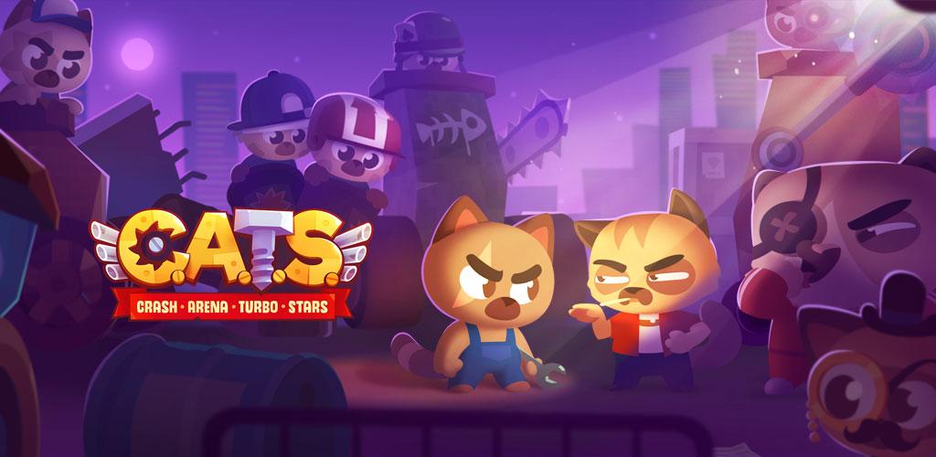 دانلود بازی اکشن نبرد گربه های استثنایی CATS: Crash Arena Turbo Stars برای اندروید