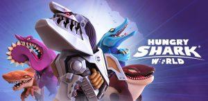 بازی کوسه گرسنه جهانیHungry Shark World v3.0.0