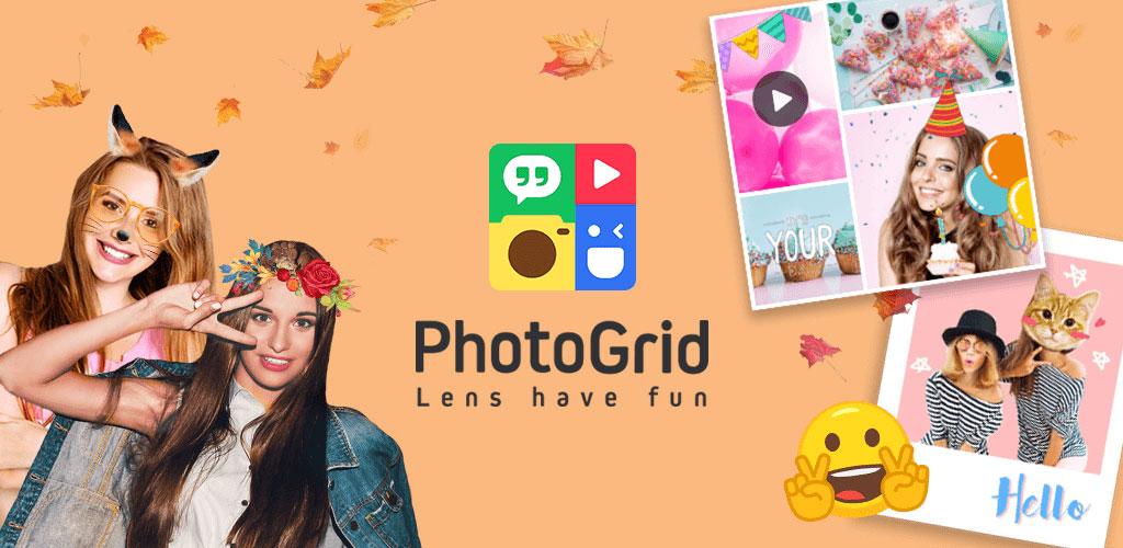 دانلود برنامه ویرایش عکس و ساخت کلاژ  Photo Grid – Collage Maker v6.73  اندروید