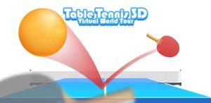 بازی جدید پینگ پونگ ساده Table Tennis 3D Virtual World Tour Ping Pong Pro