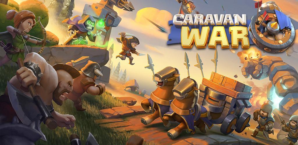دانلود بازی جنگ کاروان ها Caravan War 1.5.1 برای اندروید با لینک مستقیم