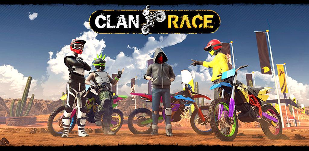 دانلودبازی مسابقات موتور سواری Clan Race 1.1.1 برای اندروید