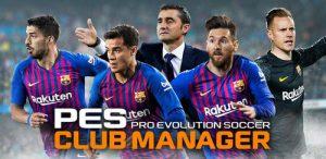 دانلود بازی مدیریت باشگاه پی اس PES Club Manager v1.7.4 a