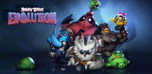 دانلود بازی پردنده گان خشمگین Angry Birds Evolution v1.23.0