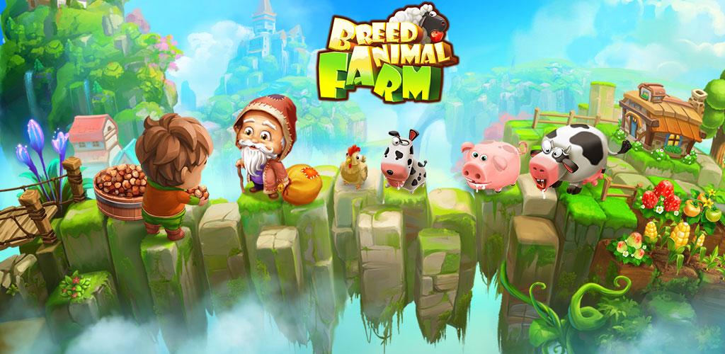 دانلود Breed Animal Farm 2.1.948a – بازی مزرعه حیوانات اندروید +مود