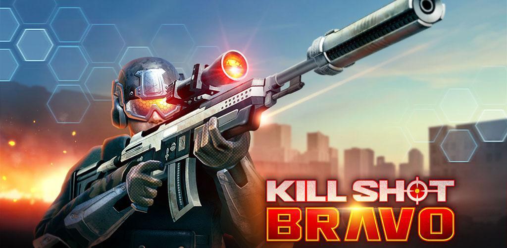 دانلود بازی اسنایپری شلیک مرگبار Kill Shot Bravo 5.3 اندروید + مود