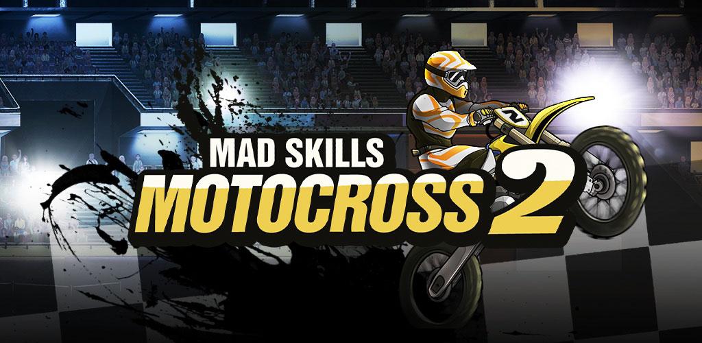 دانلود Mad Skills Motocross 2 v2.7.5-بازی موتور کراس اندروید+مود