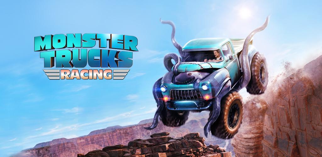 دانلود بازی مسابقه ماشین هیولاها Monster Truck Racing 2.8.0 اندروید + مود + دیتا