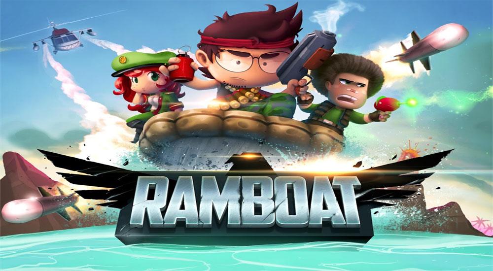 دانلود بازی Ramboat: Shoot and Dash 3.17.6 -شوتر و قایق سواری اندروید + مود