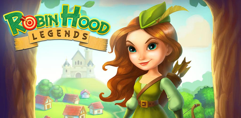 دانلود بازی پازل افسانه های رابین هود Robin Hood Legends 2.0.2 اندروید + مود