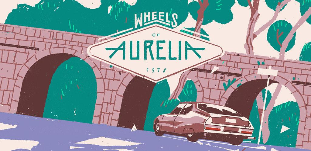 دانلود بازی ماجراجویی – مسابقه ای چرخ های آئرولیا Wheels of Aurelia 1.0 اندروید + دیتا