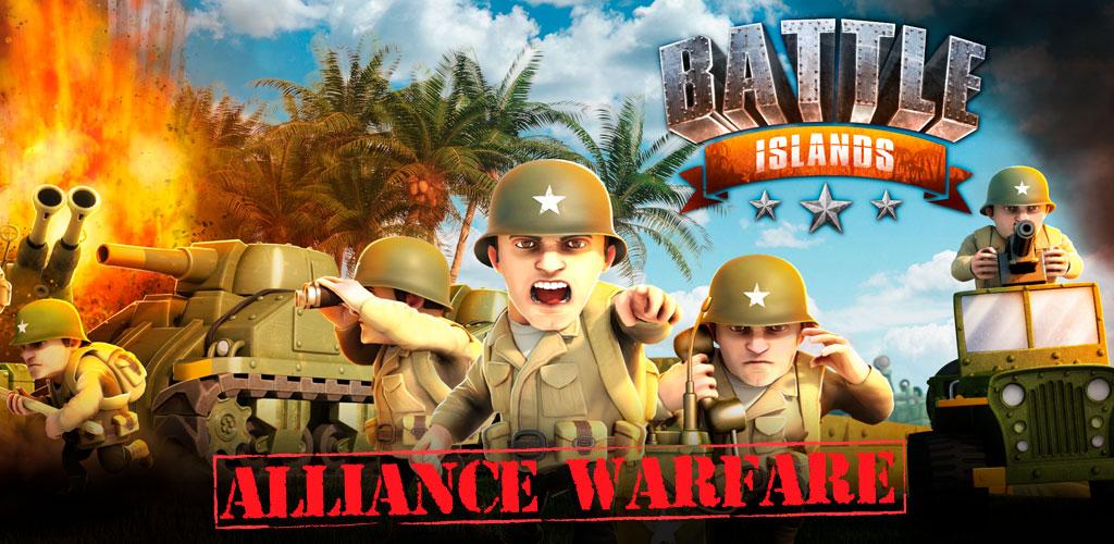 دانلود بازی استراتژیک جزایر نبرد Battle Islands 5.4 اندروید + مود