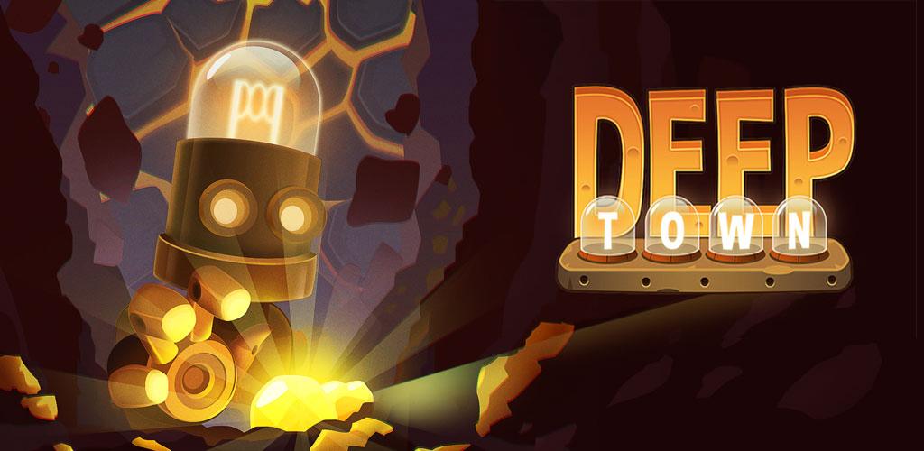 دانلود بازی کارخانه معدن Deep Town: Mining Factory 3.6.3 اندروید + مود