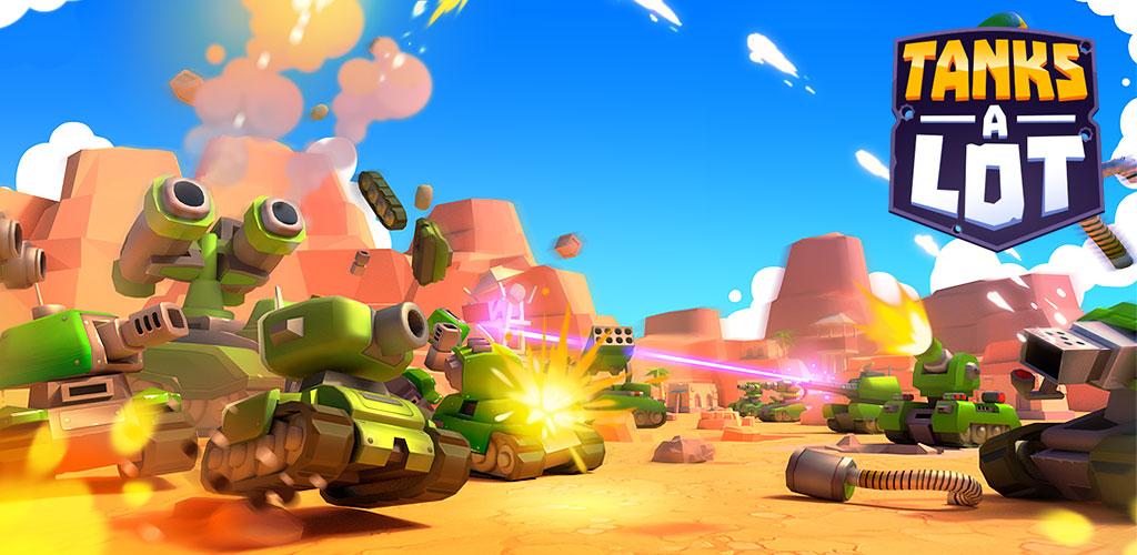 دانلود بازی نبرد تانک ها Tanks A Lot! – Realtime Multiplayer Battle Arena v1.29