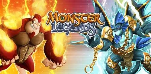 دانلود بازی افسانه های هیولا Monster Legends v7.1.2 اندروید