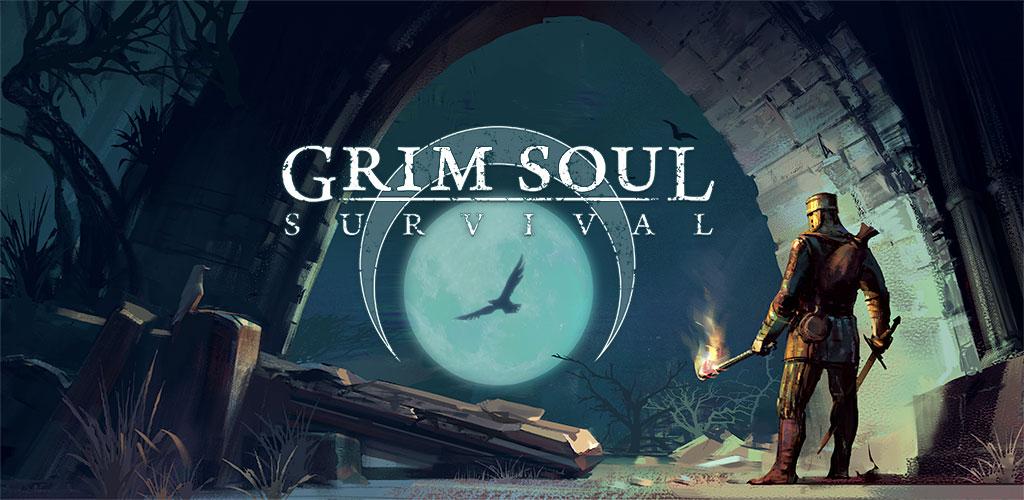 دانلود بازی اکشن و بقا Grim Soul: Dark Fantasy Survival 1.4.0 اندروید + مود