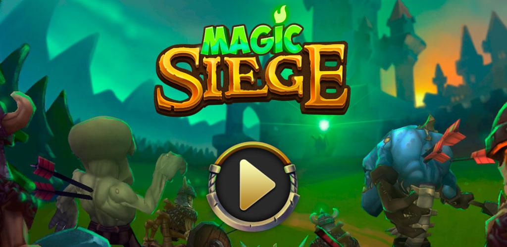 دانلود بازی Magic Siege – Defender 1.8.17 محاصره جادویی اندروید + مود