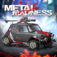 """دانلود بازی ماشین """"عصبانیت فلزی"""" Metal Madness: PvP Shooter v0.24  اندروید +مود"""