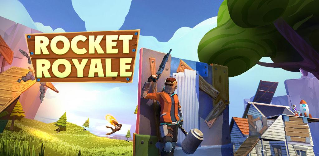"""دانلود بازی Rocket Royale 1.4.0 – اکشن – بقا """"راکت رویال"""" اندروید + مود"""