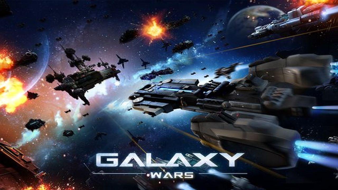 دانلود بازی استراتژیک جنگهای کهکشانی Galaxy Wars 1.0.28  اندروید