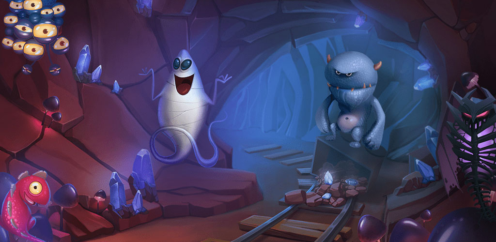 دانلود Memo Creatures 1.0 – بازی پازل فکری نامه موجودات اندروید