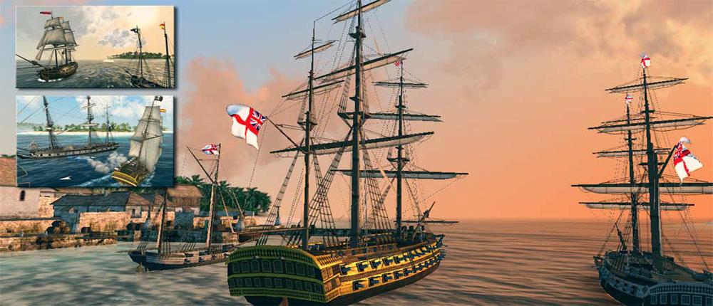 دانلود The Pirate: Caribbean Hunt 8.9 – بازی نبرد دزدان دریایی کارائیب اندروید + مگامود
