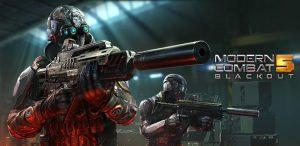 دانلود بازی Modern Combat 5 eSports FPS 3.8.0n