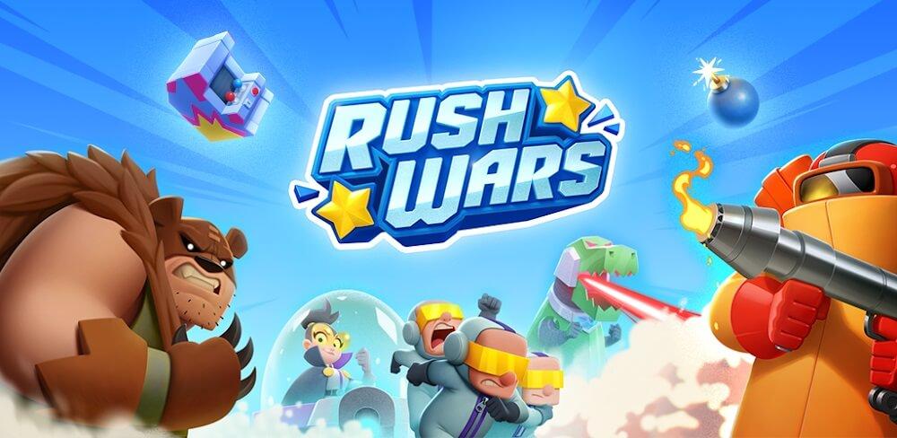 دانلود بازی Rush Wars |دانلود بازی راش وارز برای اندروید